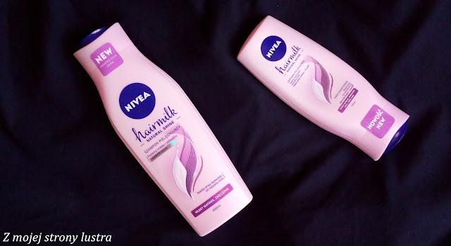 mleczny szampon do włosów mleczna odżywka do włosów
