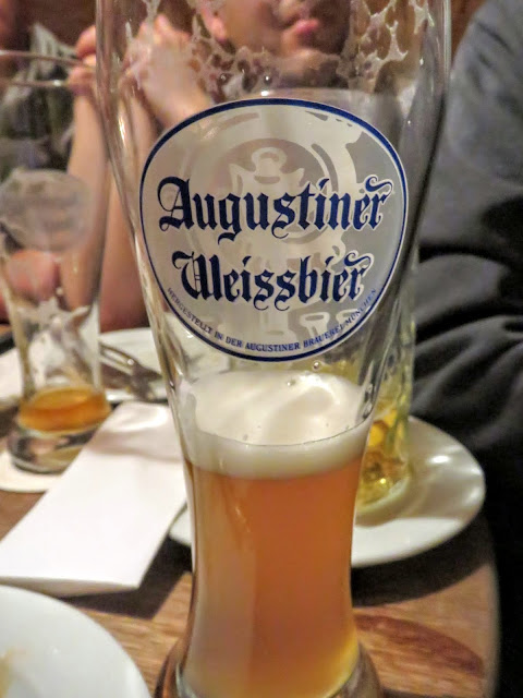 Business Trip to Munich - Beer Glass at Augustiner Keller