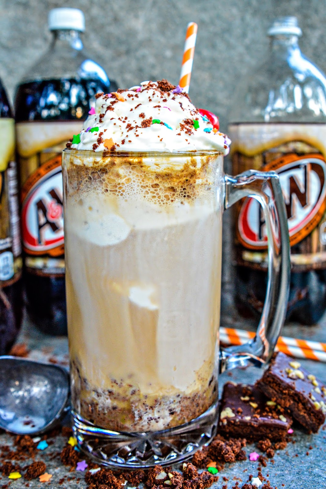 Brownie Sundae Root Beer Float
