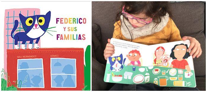 cuentos libros infantiles 0 a 3 años edad regalar navidad Federico y sus familias