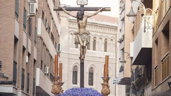El Cristo de la Buena Muerte presidirá el Vía Crucis General de Hermandades de Almería