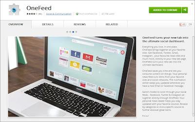 OneFeed ScreenShot