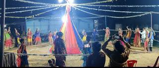 नवरात्रि की अष्टमी में रतेड़ा में हुआ गरबे का भव्य आयोजन