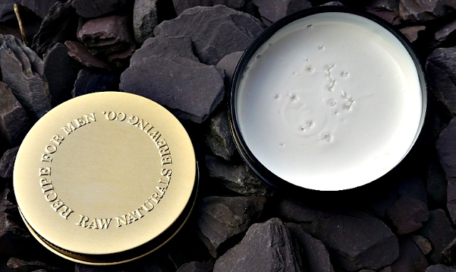 The tub of Raw Naturals Money Styling Paste