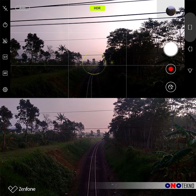 HDR Asus Zenfone Live L1