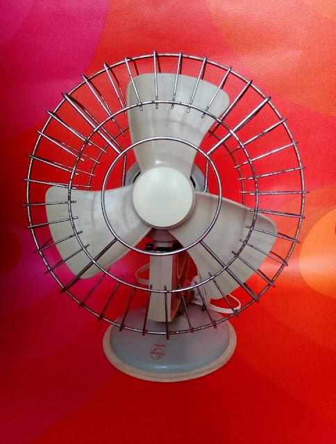 ventoinha, vintage, Philips, decoração vintage, verão vintage