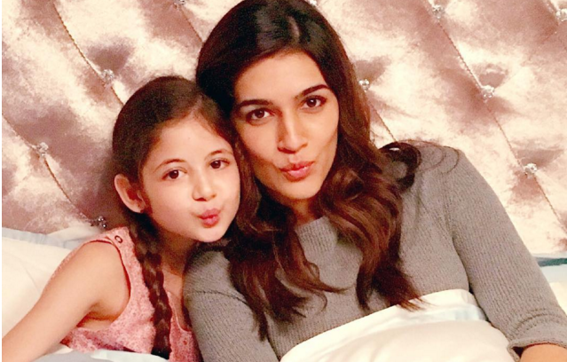 Kriti Sanon And Harshaali Malhotra