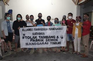 Masyarakat Desak Gubernur NTT Batalkan Izin Tambang dan Pabrik Semen di Manggarai Timur