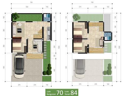 Rumah Type 70 Ataya Residence