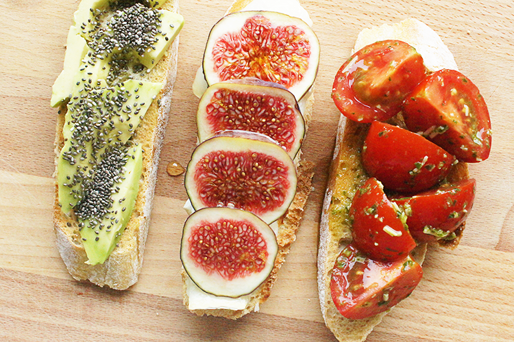 vegetarian-healthy-open-sandwiches