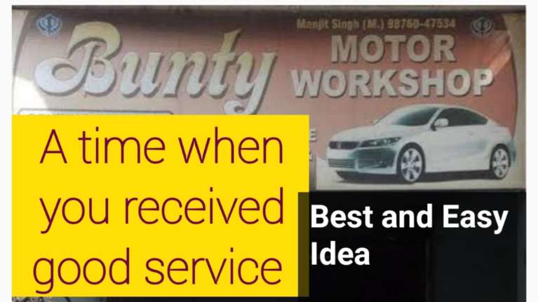 Describe a good service you received cue card