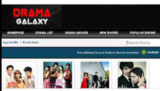 download Korean drama or movie on dramagalaxy website
