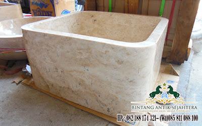 Wastafel Marmer Kotak, Harga Wastafel Batu Marmer, Jual Wastafel Meja
