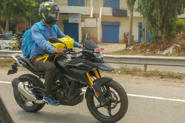 BMW G 310  R, G 310 BS6 Matt Black Spotted testing on Indian roads | Specification, Photos, Video