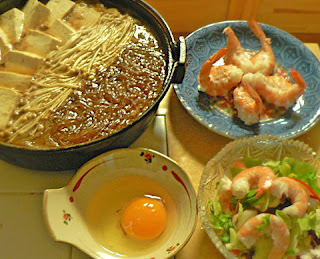 すき焼き風牛丼セット