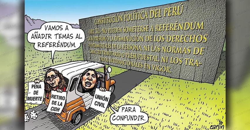 Carlincaturas Lunes 6 Agosto 2018 - La República