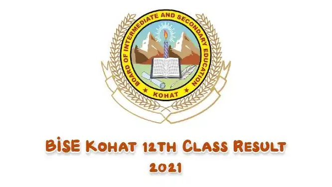 BISE Kohat 12th Class Result 2021