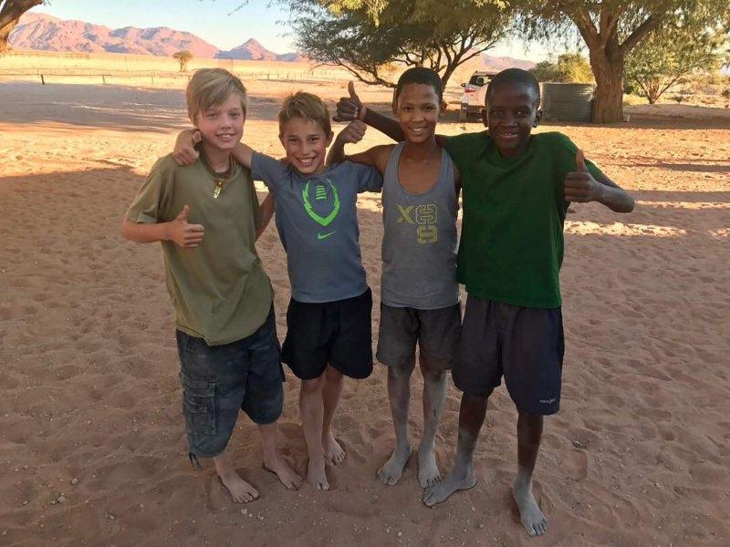Shiloh, Zacheo, Lebasin e Klein Piet