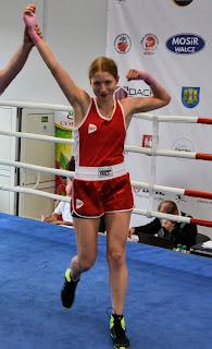 Maria Jackowska, SKF Boksing Zielona Góra, boks, trening, dzieci, sport, Zielona Góra, sportowiec,