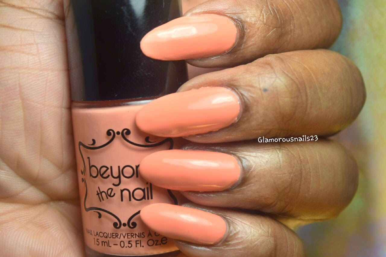 Beyond The Nail Spring Orange Swatch