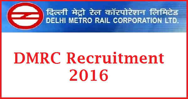 Image result for dmrc recruitment 2016-17