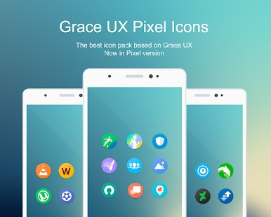 Grace UX Pixel – Icon Pack APK v2.3.0 [Patched] Cracked [Latest]
