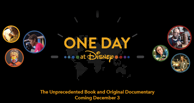Disney is giving away prizes to celebrate the book and documentary, including trips for fans to immerse themselves in an ordinary day at Walt Disney Company!