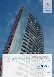 trabajo firmado entre Cuevas y Montoto Consultores y el grupo Sacyr.