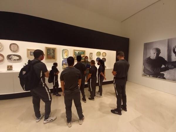 El Málaga Genuine disfruta de lo grande en el Museo Picasso