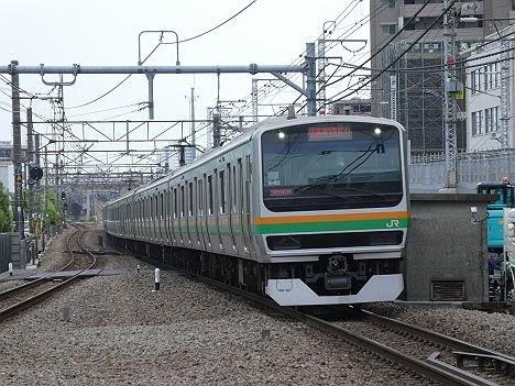 【今週末も運行!】E231系の快速 大崎行き(2018年 渋谷駅高架化工事に伴う運行)