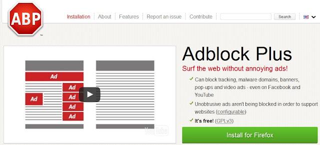 Cara Cepat dan Mudah Memblokir Iklan Popop yang mengganggu di Browser.