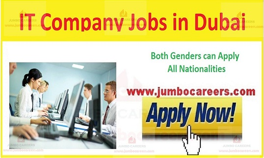 Current Company Jobs in Dubai, Recent IT jobs in Gulf countries,