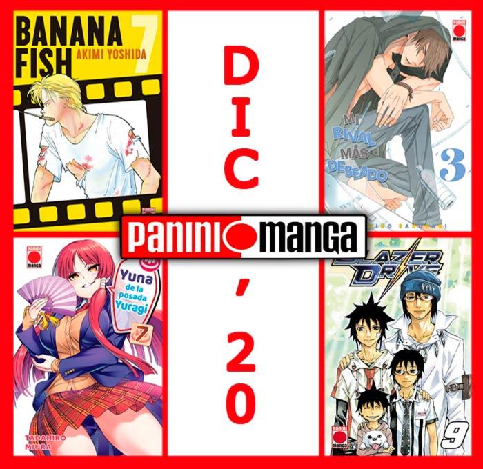 Novedades Panini Manga diciembre 2020
