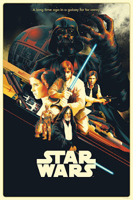 Star Wars: A New Hope Regular Timed Edition Screen Print by Matt Taylor x Bottleneck Gallery