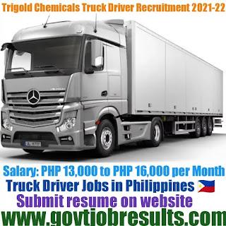 Trigold Chemicals Truck Driver Recruitment 2021-22