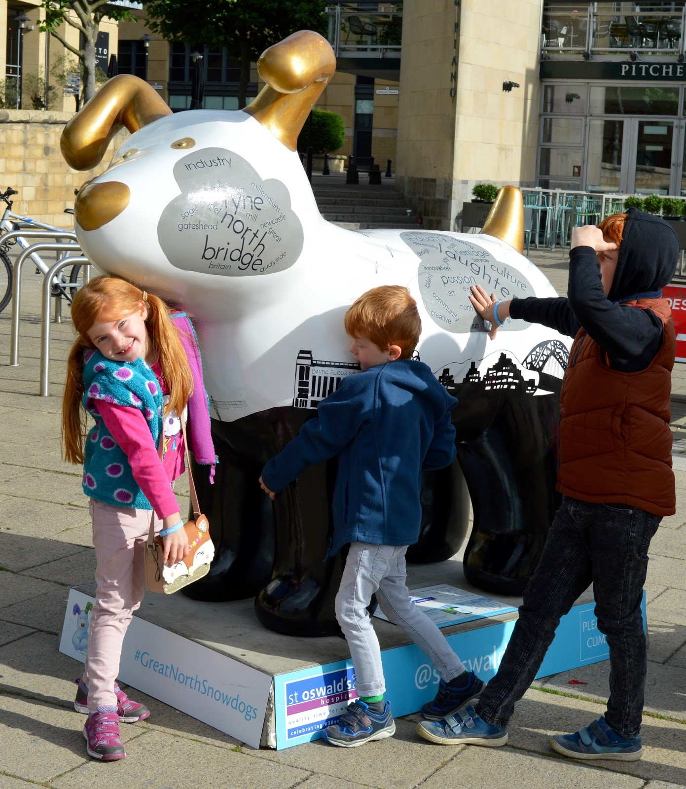 Explore the Great North Snowdogs with Tyne and Wear Metro - Tyne Tail Jack, Newcastle Quayside