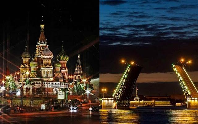 Из Москвы в Петербург на поезде