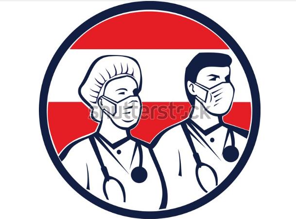 illustration logo austrian health care