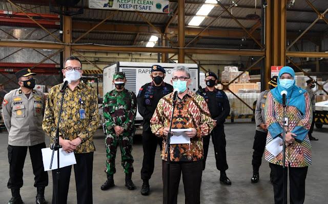 Jutaan Dosis Bahan Baku Vaksin Covid-19 Datang Lagi ke Indonesia