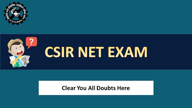 CSIR UGC NET JRF Exam - All Queries & Solutions