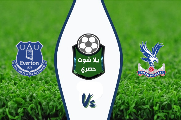 Watching the Everton and Crystal Palace match