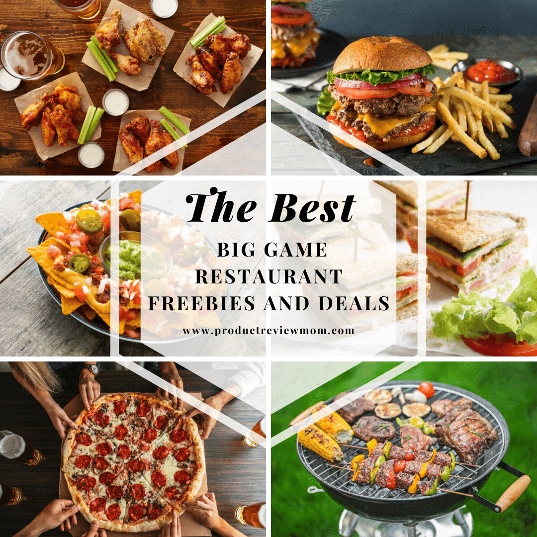 The Best Big Game Restaurant Freebies and Deals
