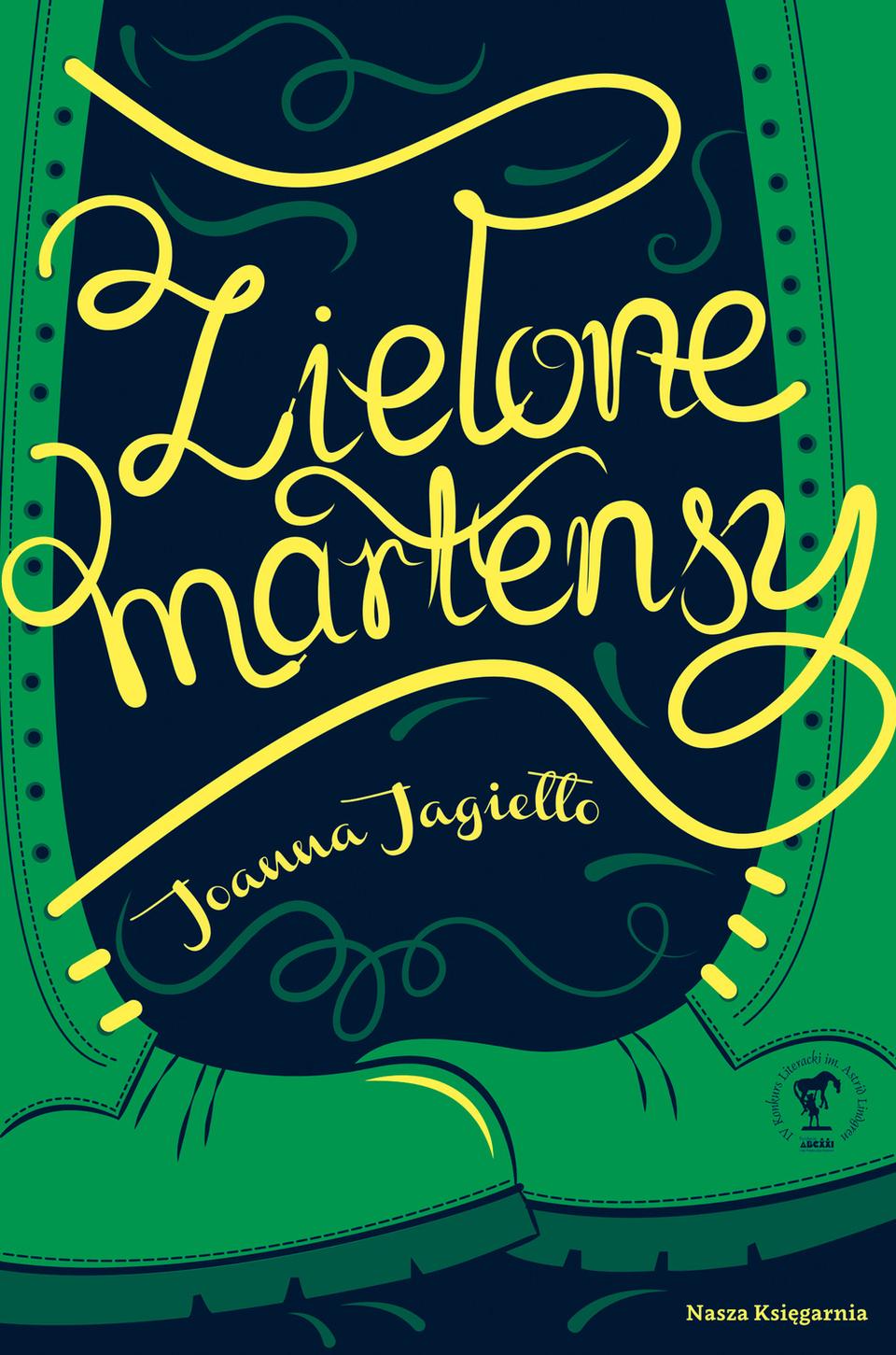 Zielone martensy - Joanna Jagieo - Ceny i opinie - trendinfo.club