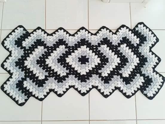 See Step By Step Zig Zag Free Crochet Carpet Crochet Websites Free