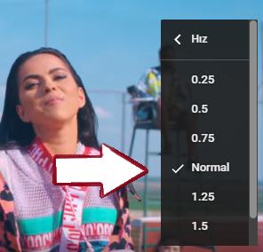 YouTube Videolarını Hızlandırma ve Yavaşlatma Nasıl Yapılır?