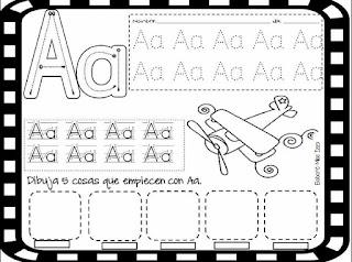 Ejercicios de sílabas para niños de preescolar