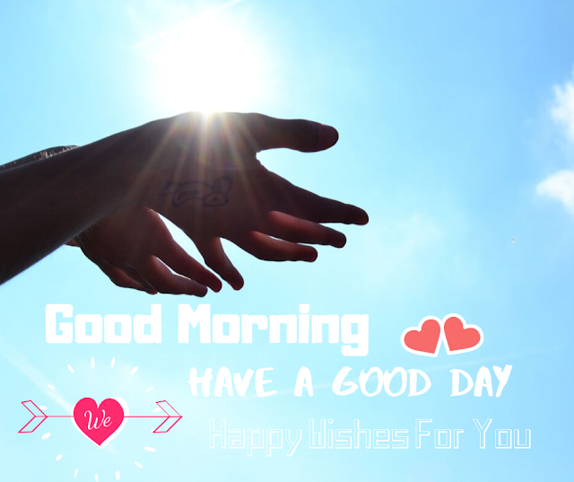 Good Morning image Sun Shining