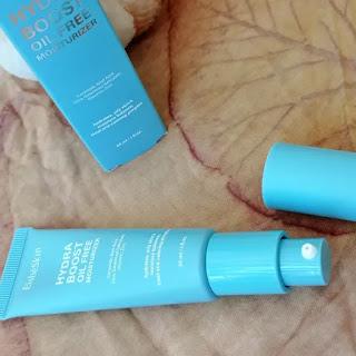 Packaging moisturizer travel friendly
