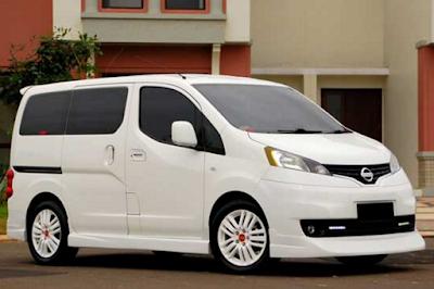 Nissan Evalia XV Modifikasi Dijual