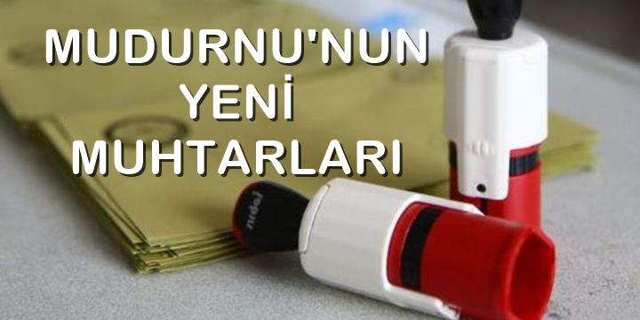 MUDURNU MUHTARLARI TAM LİSTE